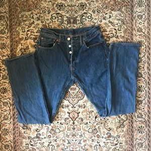 Button Fly Levi Jeans